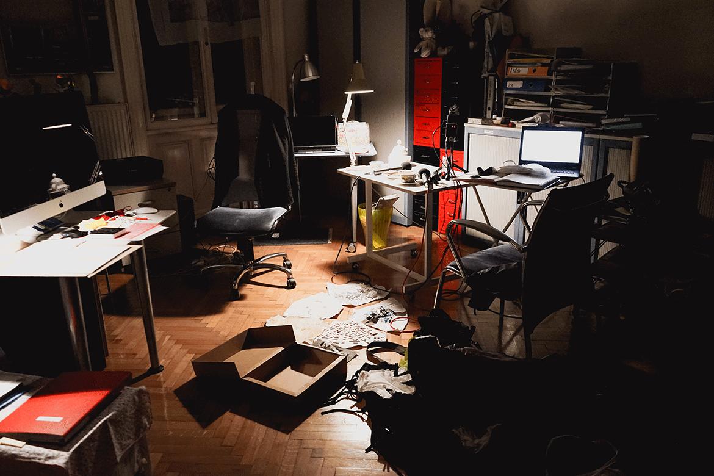 Kunst Podcast Aufnahme Setting in Wien